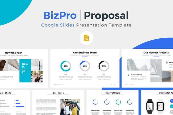 BizPro. Google Slide Presentation Template