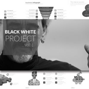 BLACK WHITE Vol. 1 Google Slides
