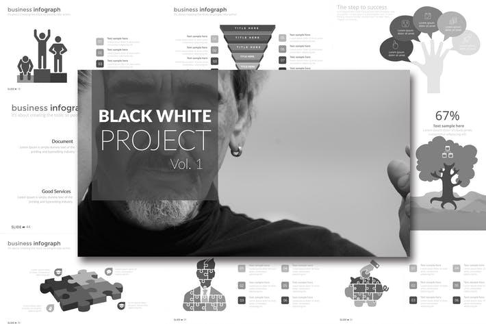 BLACK WHITE Vol. 1 Google Slides