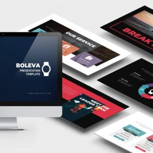 Boleva : Photo Studio Google Slides Template