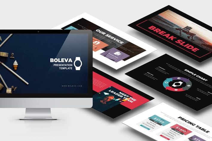 Boleva : Photo Studio Powerpoint Template