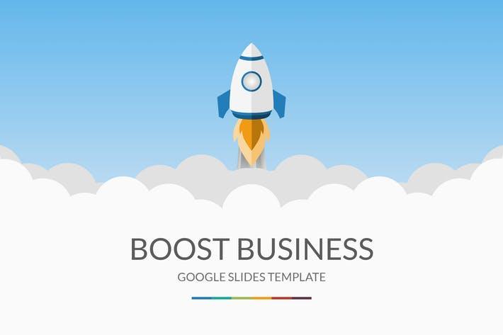 Boost Business Google SlidesTemplate