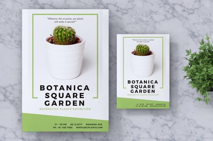 Botanica Event Flyer & Poster Vol. 01