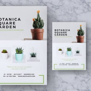 Botanica Event Flyer & Poster Vol. 02