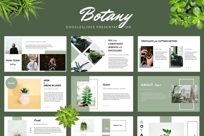 Botany Google Slides Presentation