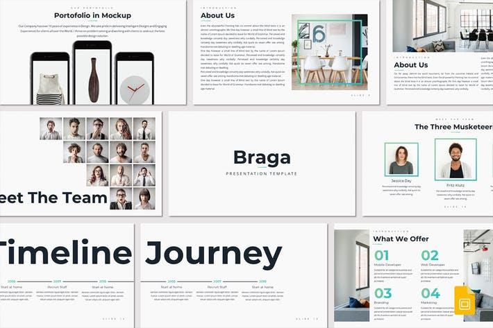 Braga - Google Slides Template