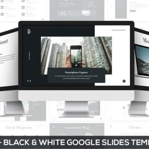 Bridge - Black & White Google Slides Presentation