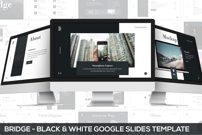 Bridge - Black & White Google Slides Presentation
