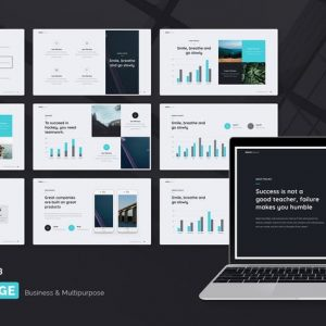 BRIDGE - Business & Multipurpose Template (PPT)