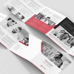 Brochure – Business Marketing 4-Fold Square