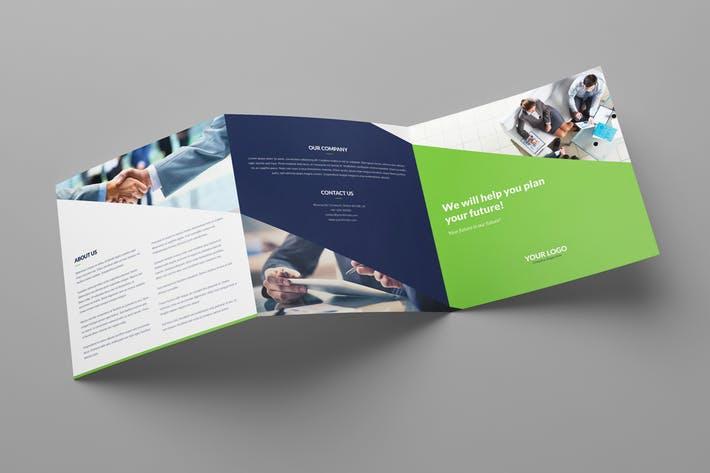 Brochure – Company Tri-Fold Square