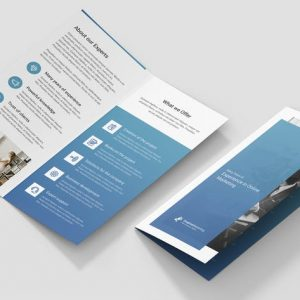Brochure – Creative Marketing Bi-Fold DL