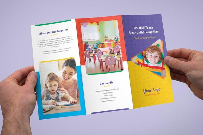 Brochure – Kindergarten Tri-Fold
