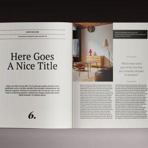 Brogazine Indesign Template
