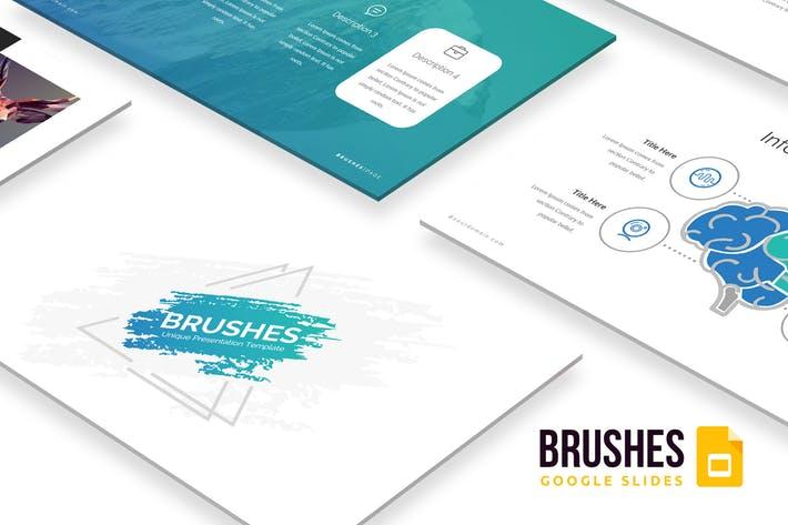 Brushes Google Slides Template