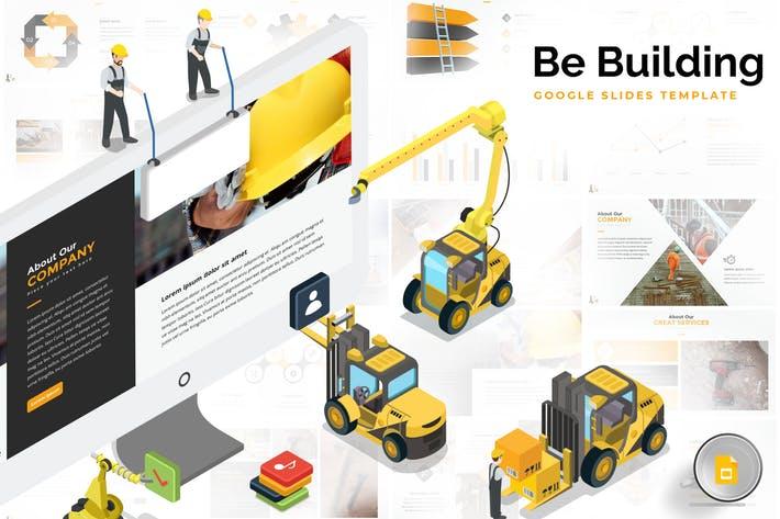 Building & Construction Google Slides Template