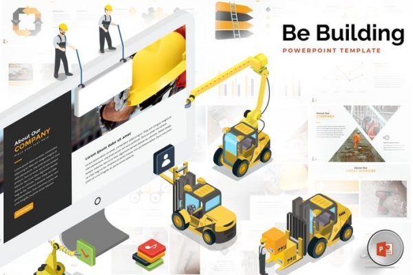Building & Construction Powerpoint Template