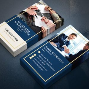 Business Card – Law Firm Vertical