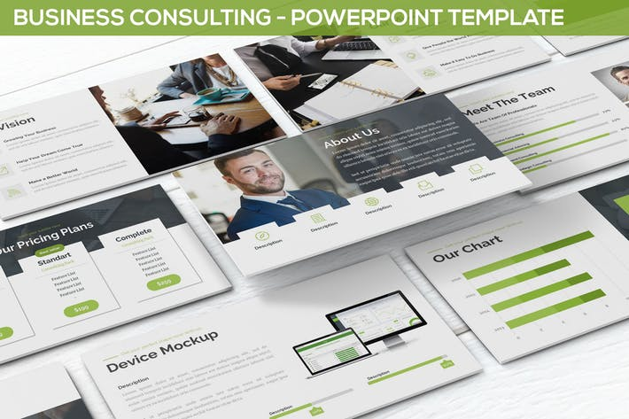 Business Consulting - Powerpoint Template