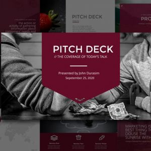 BUSINESS PITCH DECK Google Slides