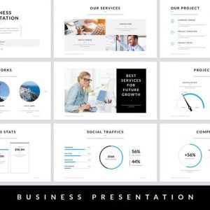Business Presentation Google Slides Template