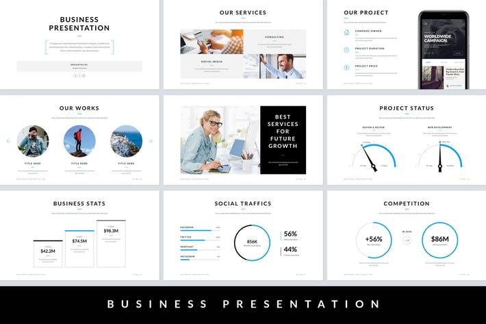 Business Presentation Google Slides Template