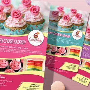 Cake Flyer / Magazine Ad