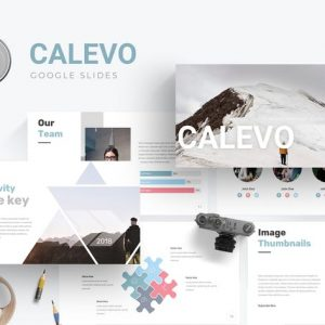 Calevo - Google Slides Template