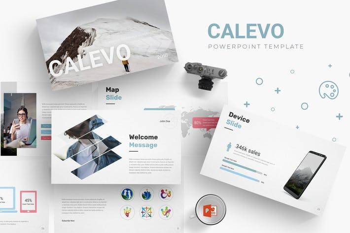 Calevo - Powerpoint Template