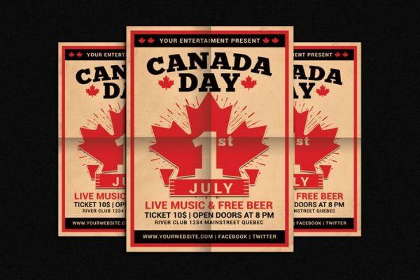 Canada Day Flyer