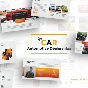 Car Dealerships Google Slides Template