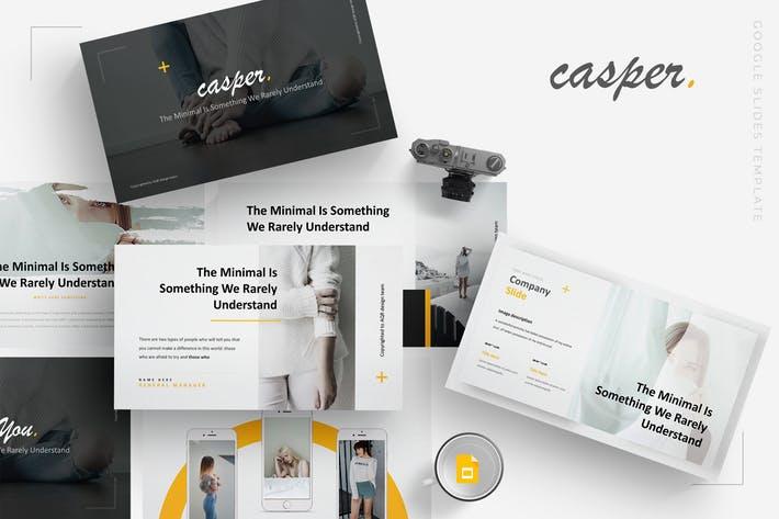 Casper - Google Slides Template