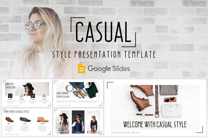 Casual - Google Slides Template