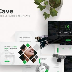 Cave - Google Slide Template