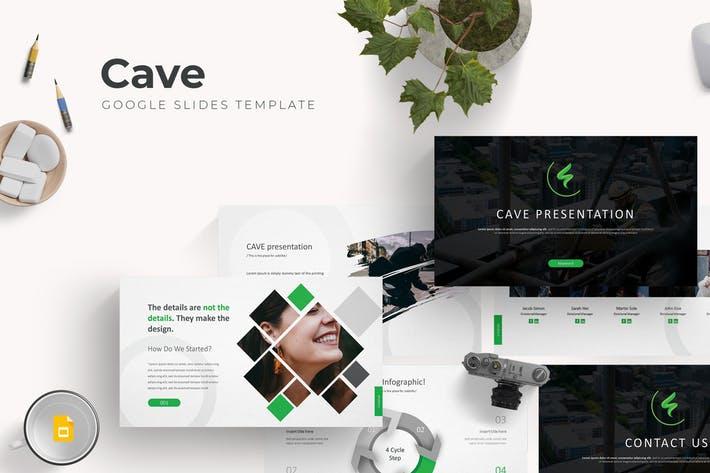 Cave - Google Slide Template