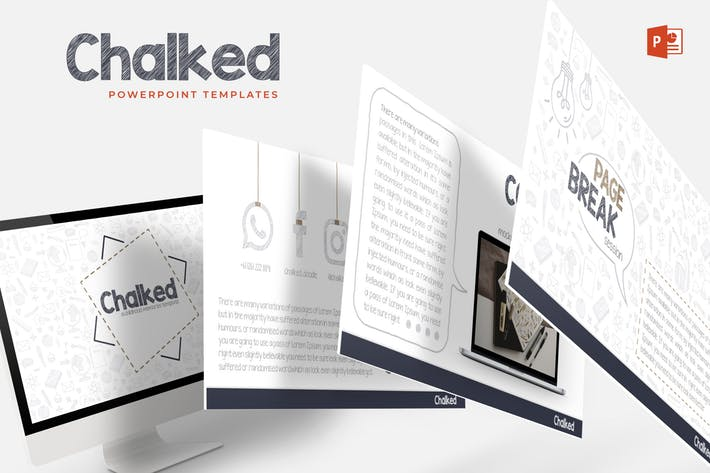 Chalked - Powerpoint Templates