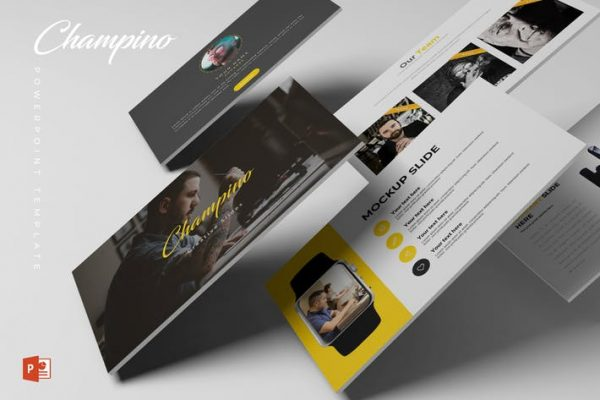 Champino - Powerpoint Template