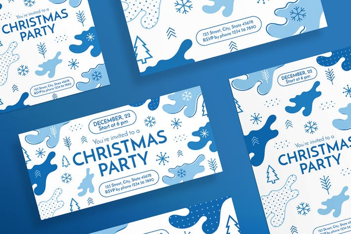 Christmas Party Flyer and Poster Template