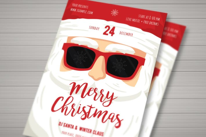 Christmas Santa Claus Flyer