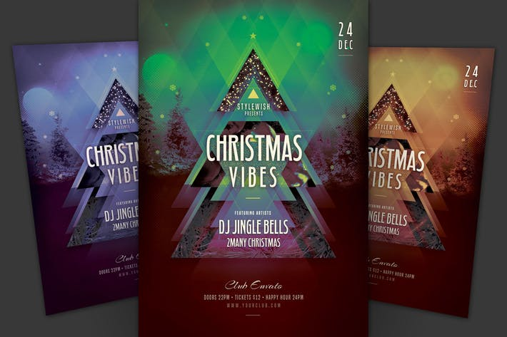 Christmas Vibes Flyer