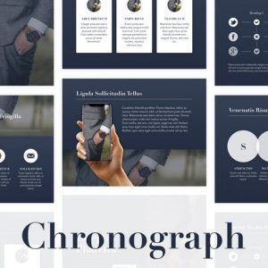 Chronograph PowerPoint Template