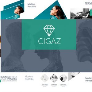 CIGAZ Powerpoint Template