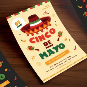 Cinco De Mayo Flyer 01