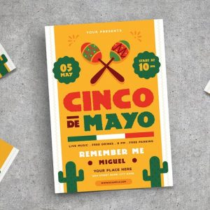 Cinco De mayo Flyer 02