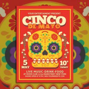 Cinco De Mayo Flyer Poster