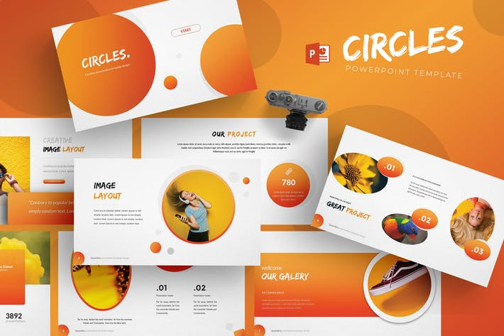 Circles - Powerpoint Template