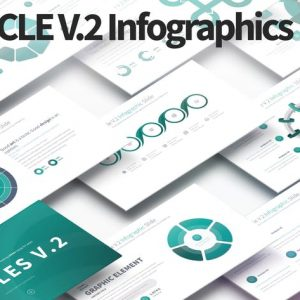 CIRCLES V.2 - PowerPoint Infographics Slides
