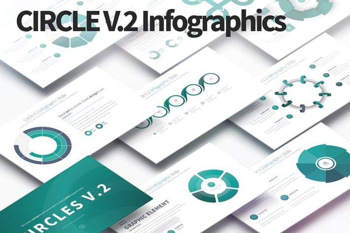 CIRCLES V.2 - PowerPoint Infographics Slides