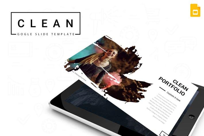 Clean - Google Slides Template