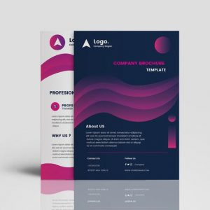 Clean Gradient Multipurpose Brochure